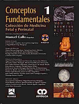 Portada del libro 9789588473901 Conceptos Fundamentales + Dvd (Coleccion de Medicina Fetal y Perinatal, Vol. 1)