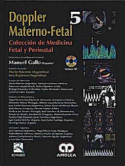 Portada del libro 9789588473918 Doppler Materno-Fetal + Dvd (Coleccion de Medicina Fetal y Perinatal, Vol. 5)