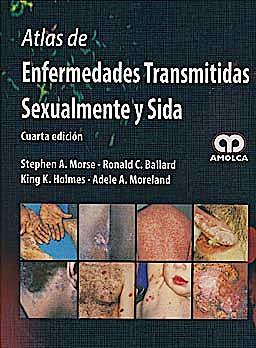 Portada del libro 9789588760001 Atlas de Enfermedades Transmitidas Sexualmente y Sida