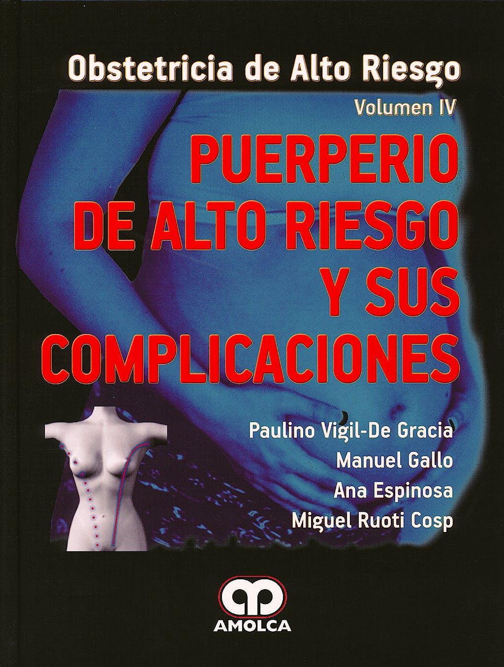 Portada del libro 9789588760322 Puerperio de Alto Riesgo y Sus Complicaciones (Obstetricia de Alto Riesgo, Vol. Iv)