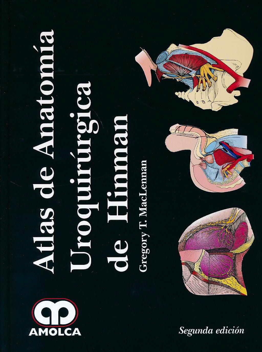 Portada del libro 9789588760865 Atlas de Anatomía Uroquirúrgica de Hinman