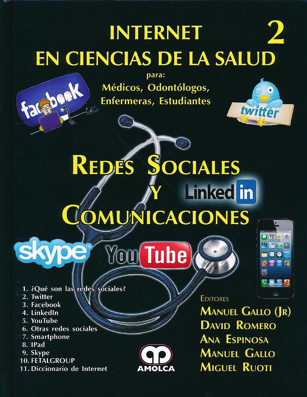 Portada del libro 9789588760988 Redes Sociales y Comunicaciones. Internet en Ciencias de la Salud 2