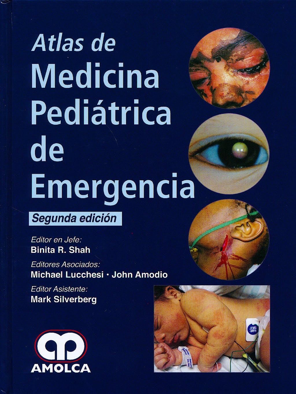 Portada del libro 9789588816340 Atlas de Medicina Pediátrica de Emergencia