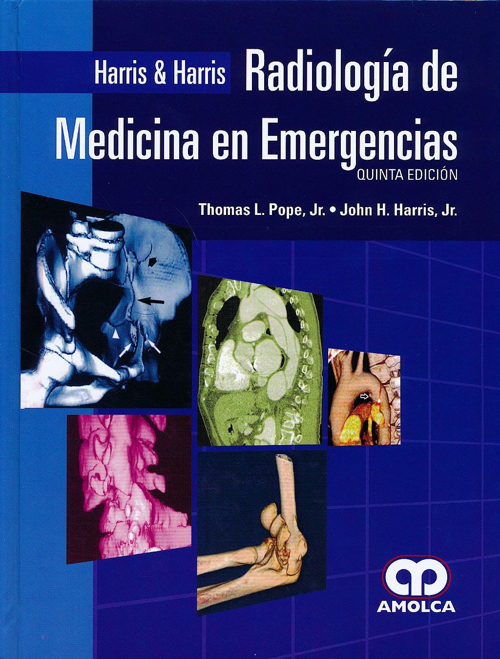 Portada del libro 9789588816425 Harris y Harris Radiologia de Medicina en Emergencias