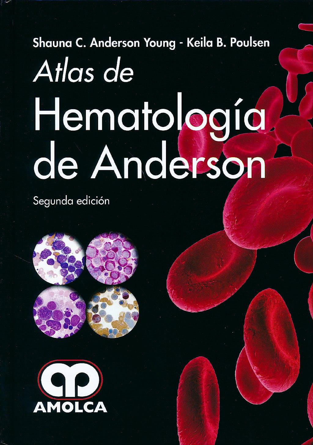 Portada del libro 9789588816586 Atlas de Hematologia de Anderson