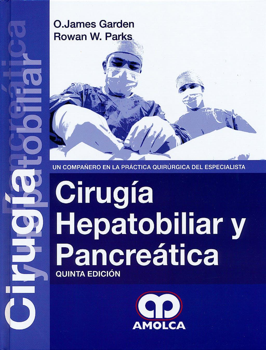 Portada del libro 9789588816784 Cirugia Hepatobiliar y Pancreatica