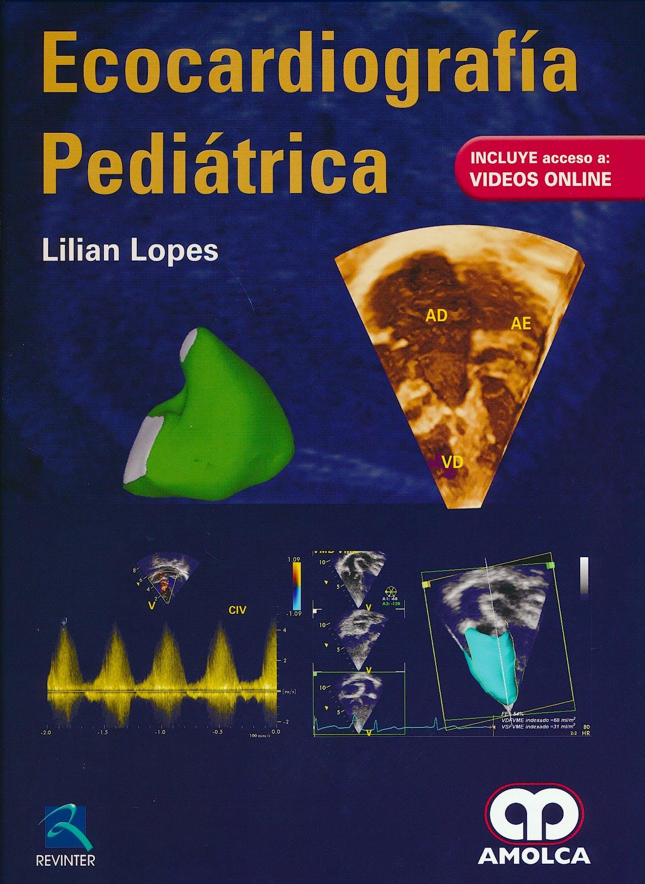Portada del libro 9789588950143 Ecocardiografía Pediátrica + Acceso Online