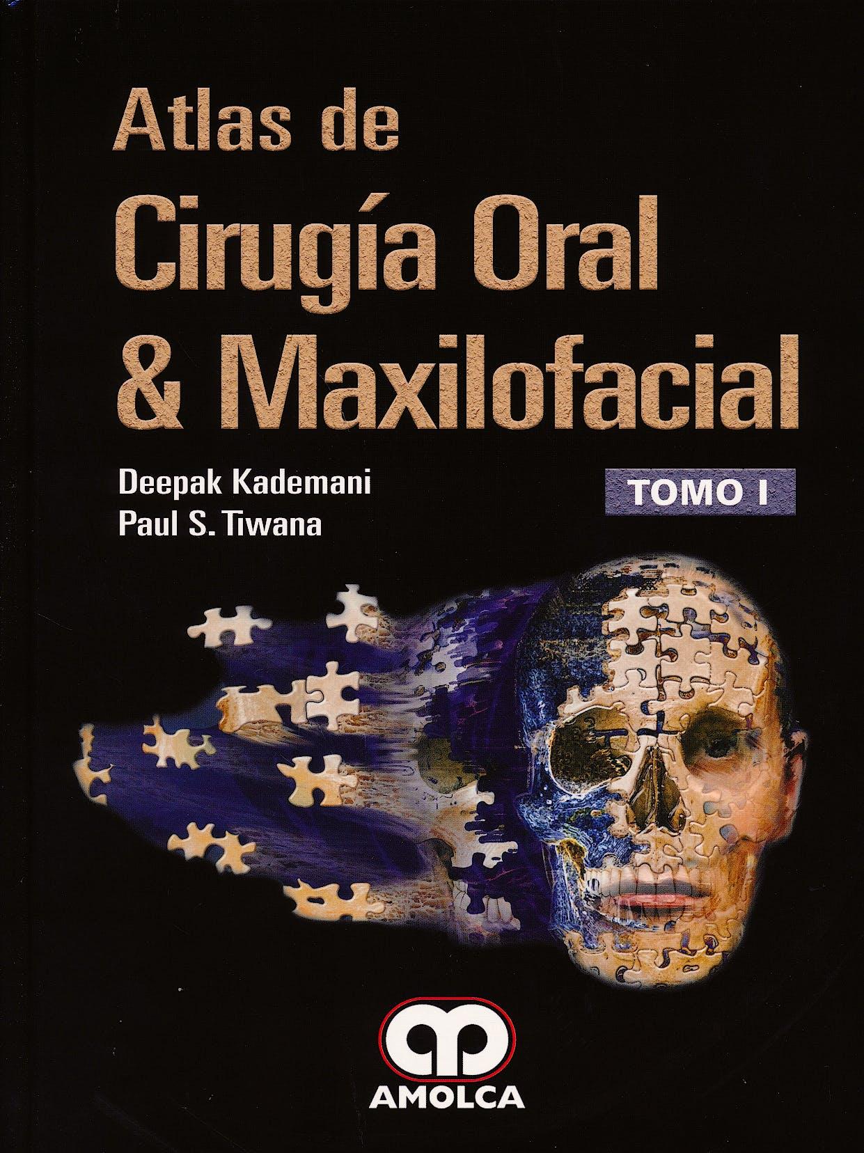 Portada del libro 9789588950228 Atlas de Cirugía Oral y Maxilofacial, 2 Vols.