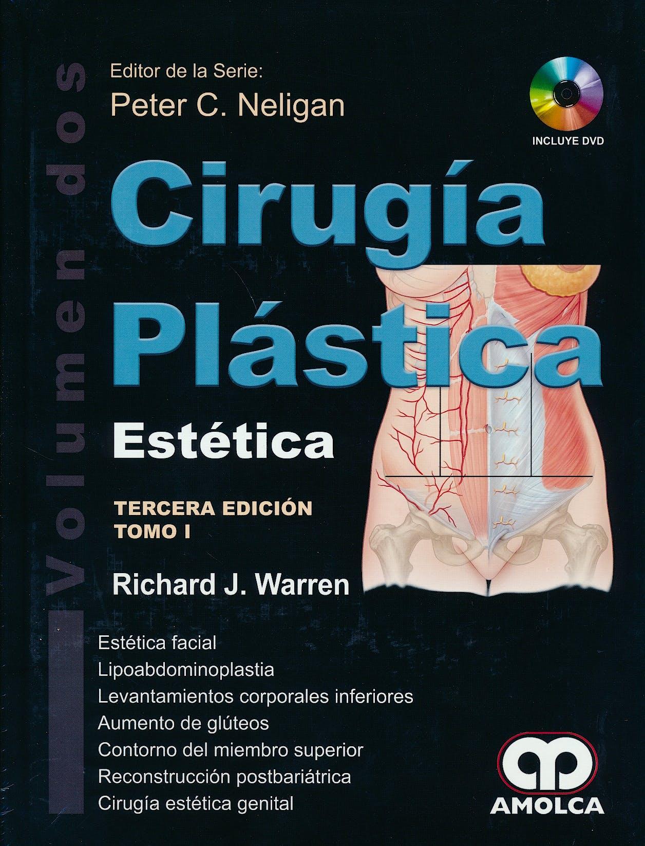 Portada del libro 9789588950327 Cirugía Plástica, Vol. 2: Estética, 2 Tomos + DVD
