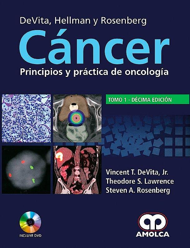 Portada del libro 9789588950730 Devita, Hellman y Rosenberg Cáncer. Principios y Práctica de Oncología, 2 Vols. + DVD