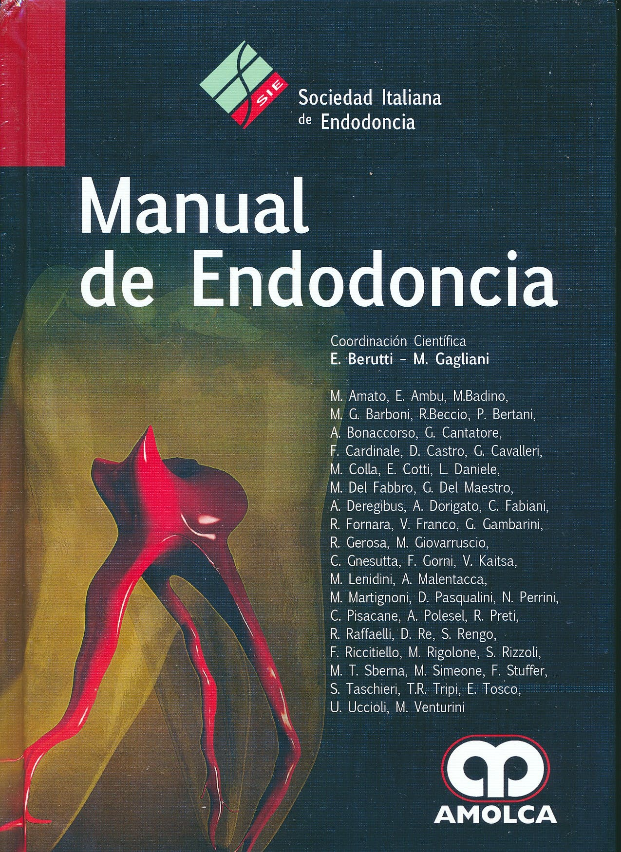 Portada del libro 9789588950877 Manual de Endodoncia
