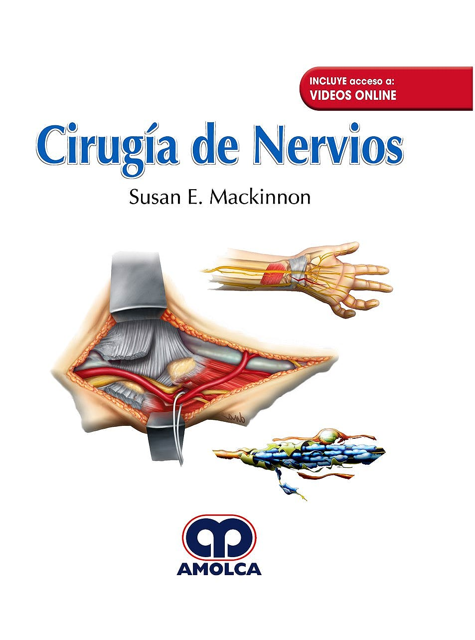 Portada del libro 9789588950884 Cirugía de Nervios + Videos Online