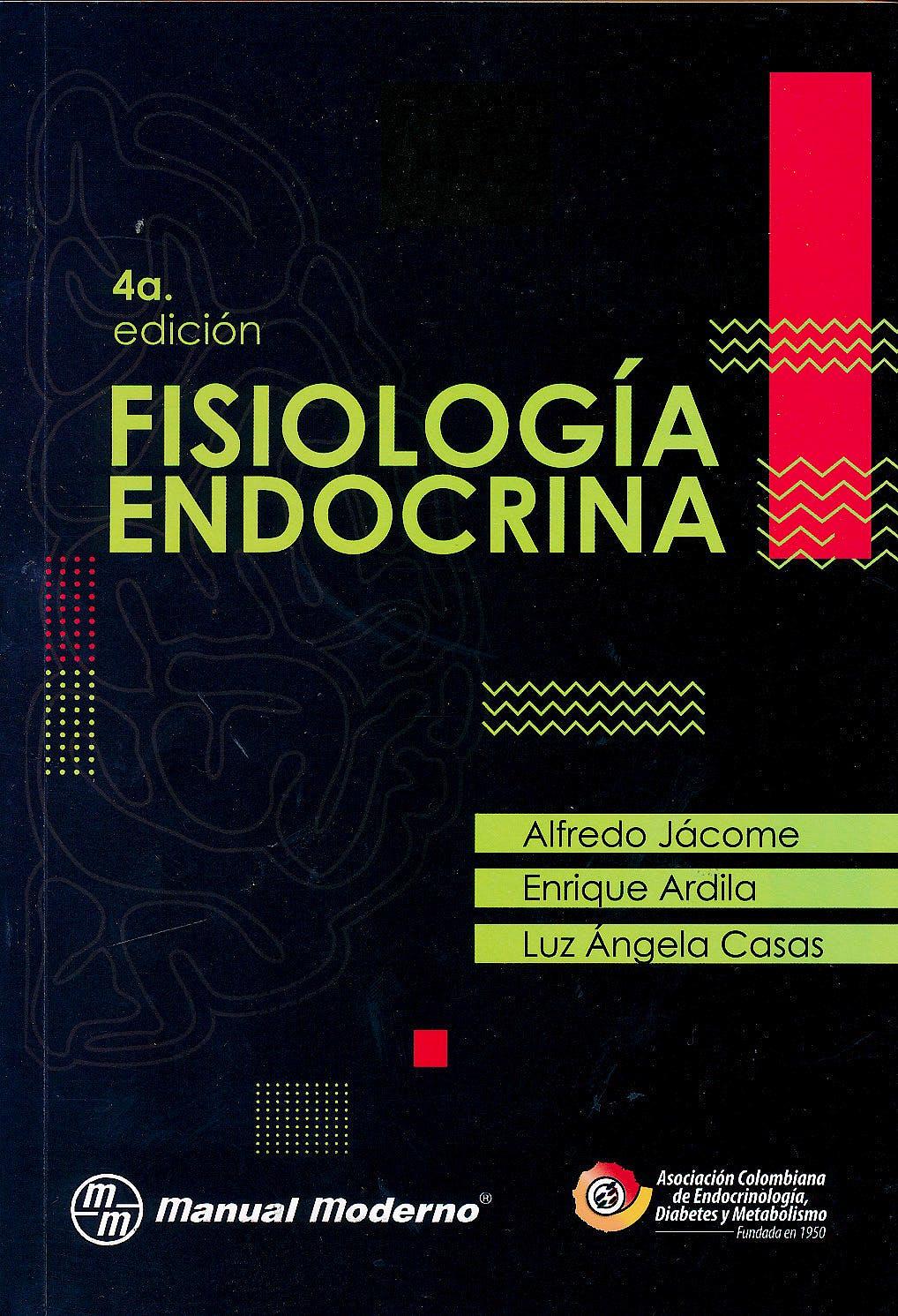 Portada del libro 9789588993072 Fisiología Endocrina