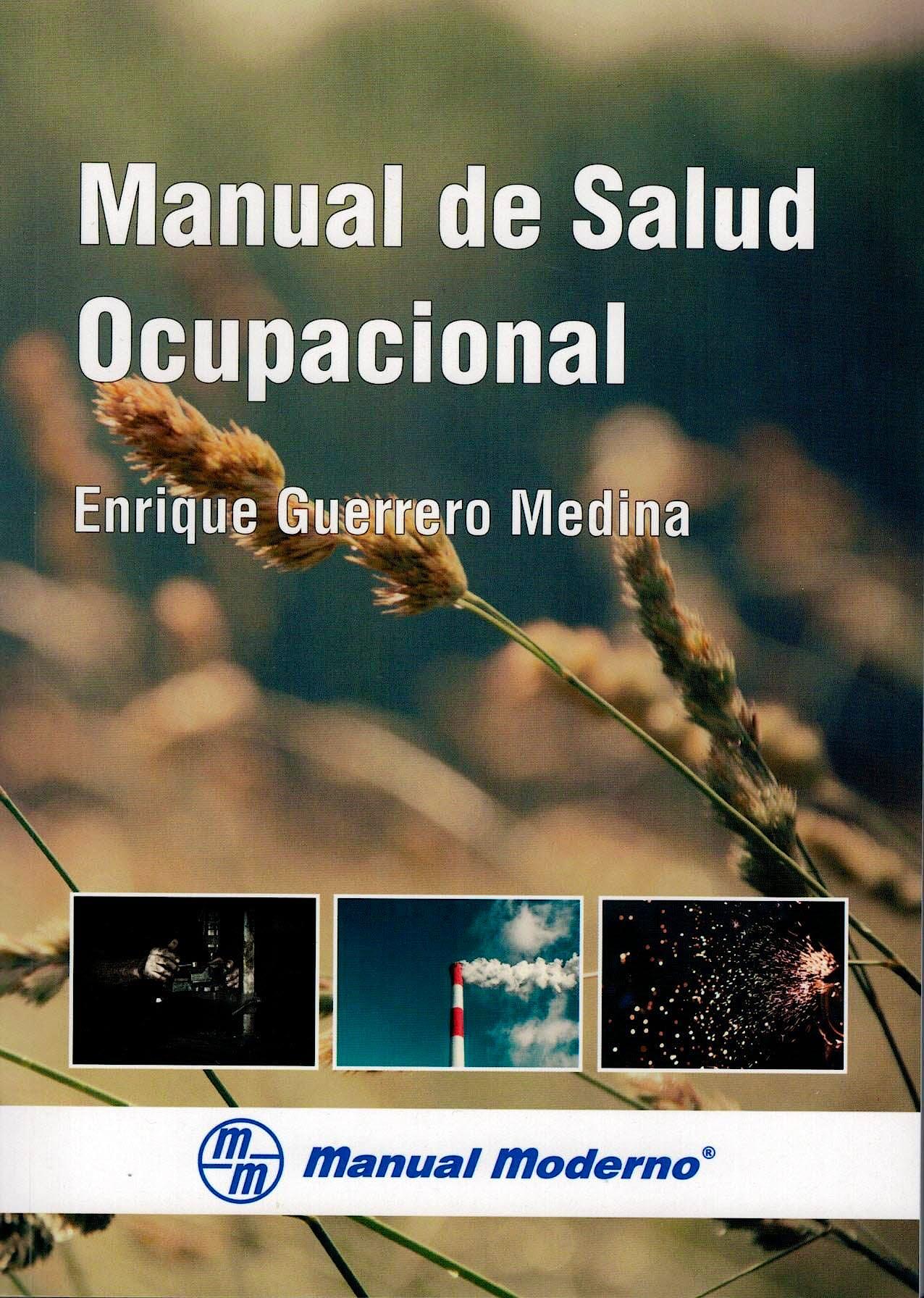Portada del libro 9789588993119 Manual de Salud Ocupacional