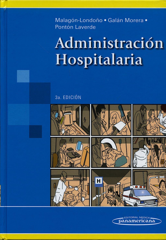 Portada del libro 9789589181980 Administración Hospitalaria