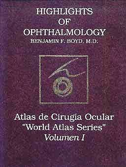Portada del libro 9789589554401 Atlas de Cirugia Ocular (World Atlas Series), Vol. 1