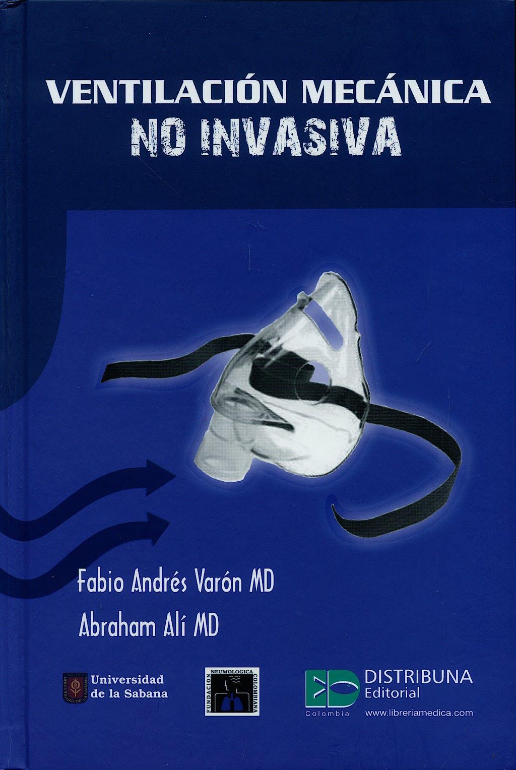 Portada del libro 9789589828854 Ventilación Mecánica no Invasiva