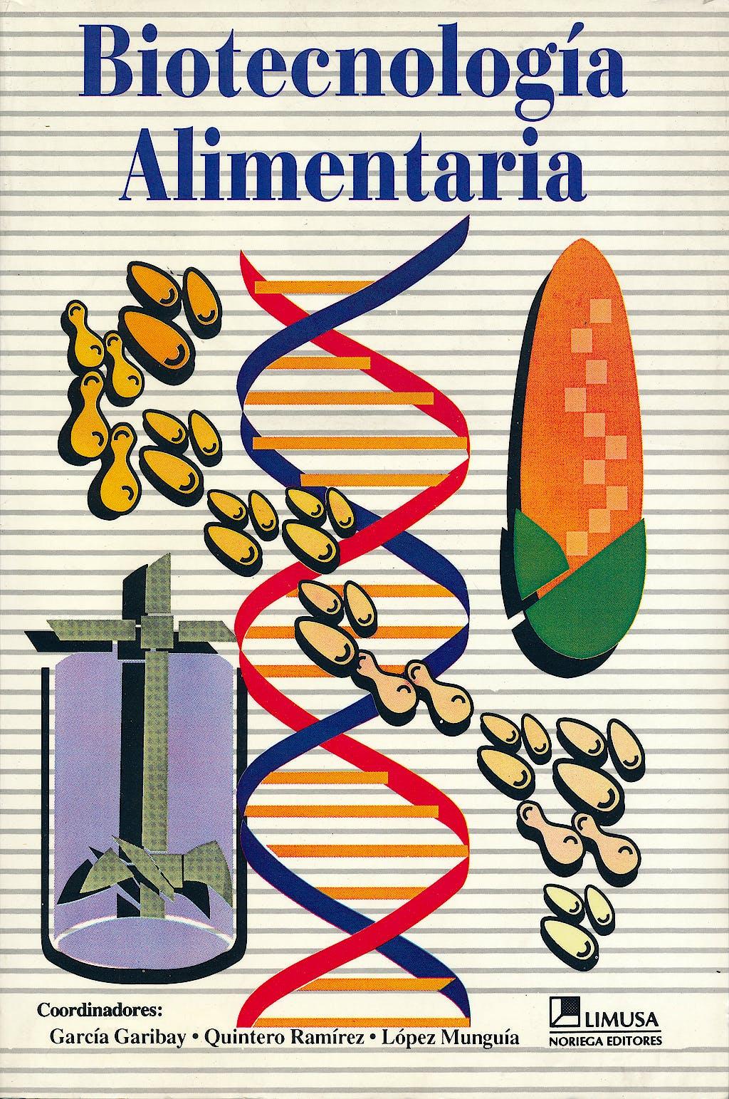 Portada del libro 9789681845223 Biotecnologia Alimentaria