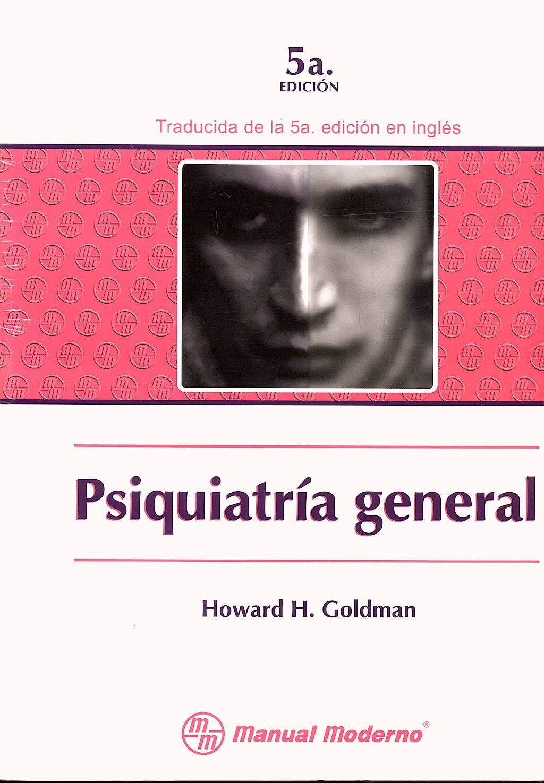 Portada del libro 9789684269392 Psiquiatria General