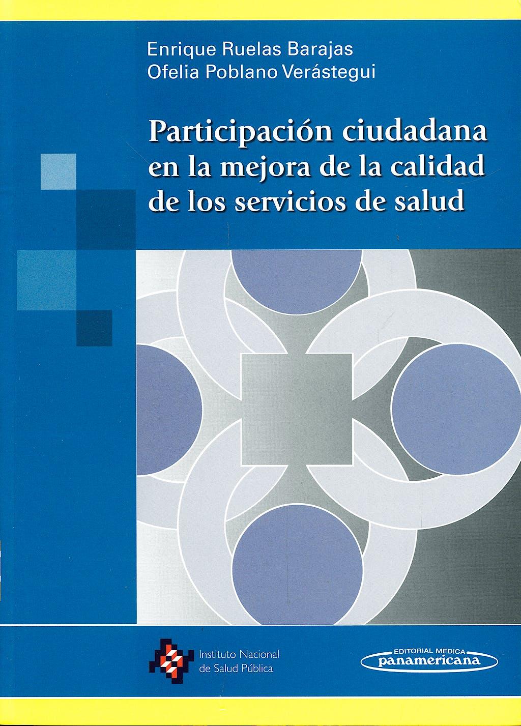 Portada del libro 9789687988931 Participacion Ciudadana en la Mejora de la Calidad de los Servicios Sociales