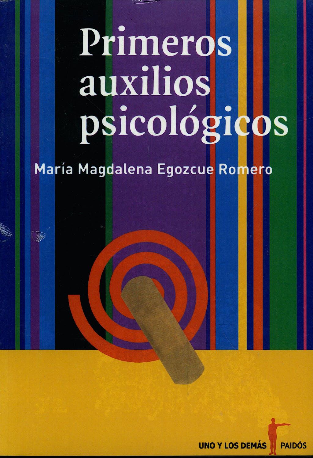Portada del libro 9789688535882 Primeros Auxilios Psicologicos