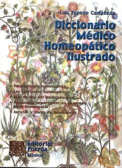 Portada del libro 9789700731186 Diccionario Medico Homeopatico Ilustrado