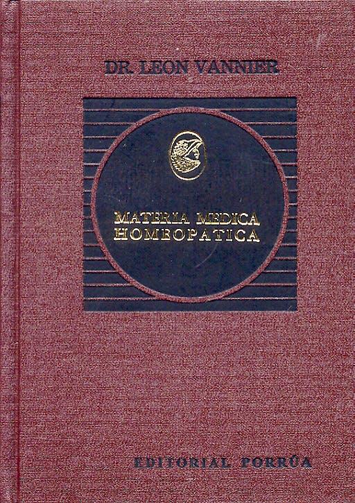 Portada del libro 9789700761015 Materia Medica Homeopatica