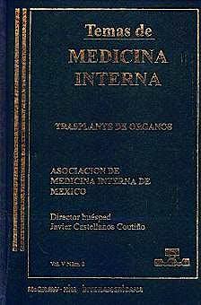 Portada del libro 9789701019801 Temas de Medicina Interna: Trasplante de Organos
