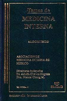 Portada del libro 9789701019818 Temas de Medicina Interna: Algoritmos
