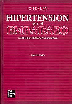 Portada del libro 9789701033197 Hipertension en el Embarazo