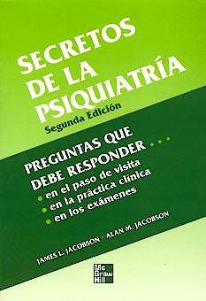 Portada del libro 9789701037515 Secretos de la Psiquiatria