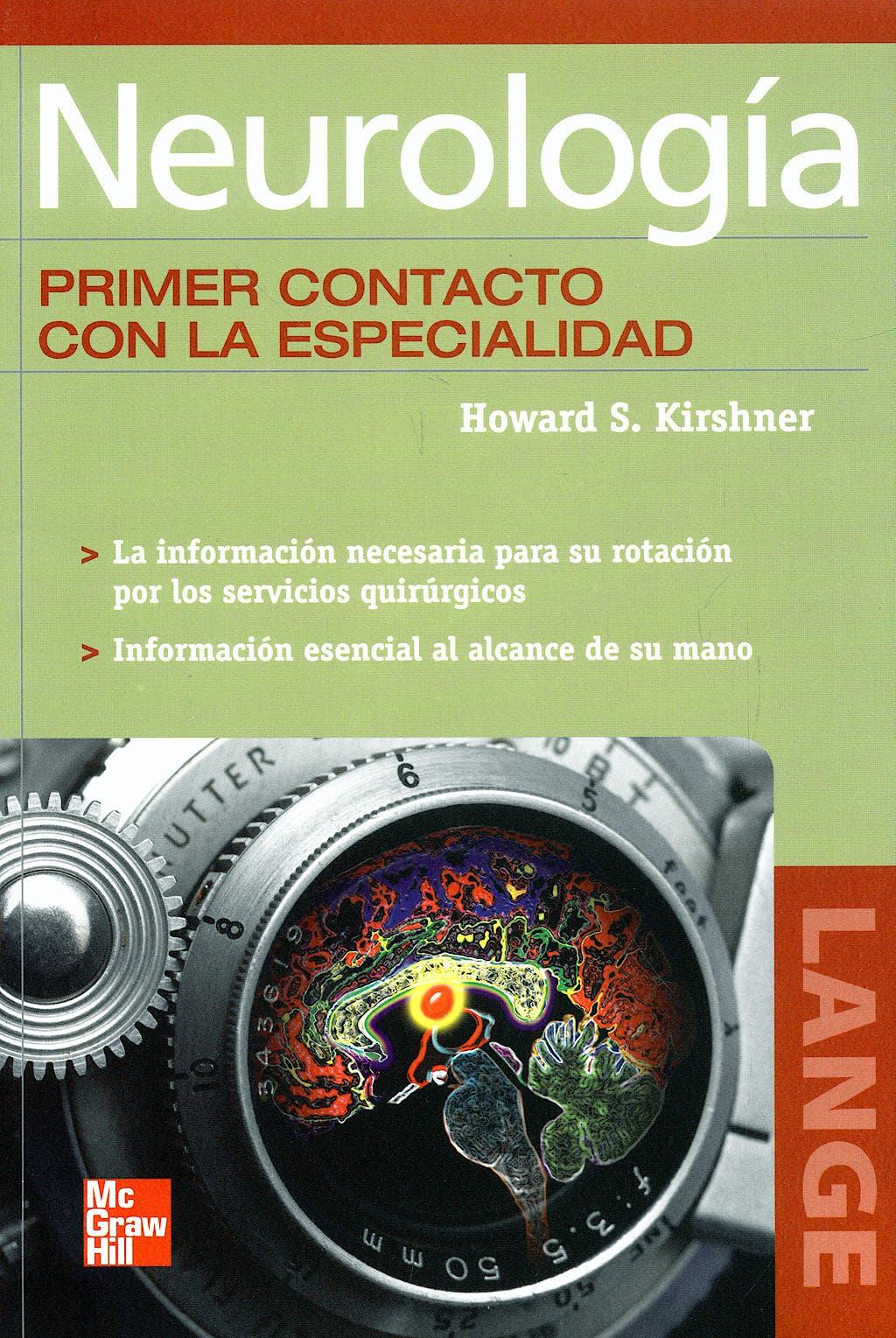 Portada del libro 9789701065488 Neurologia. Primer Contacto con la Especialidad