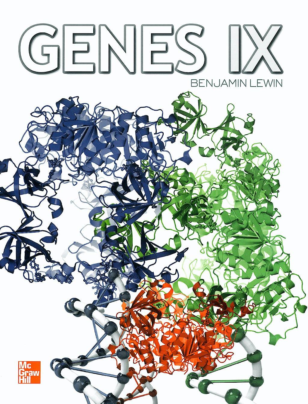Portada del libro 9789701066850 Genes IX