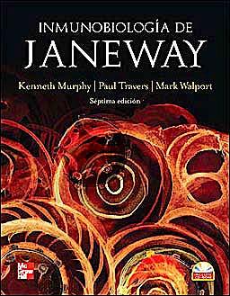 Portada del libro 9789701073476 Inmunobiología de Janeway + CD-ROM