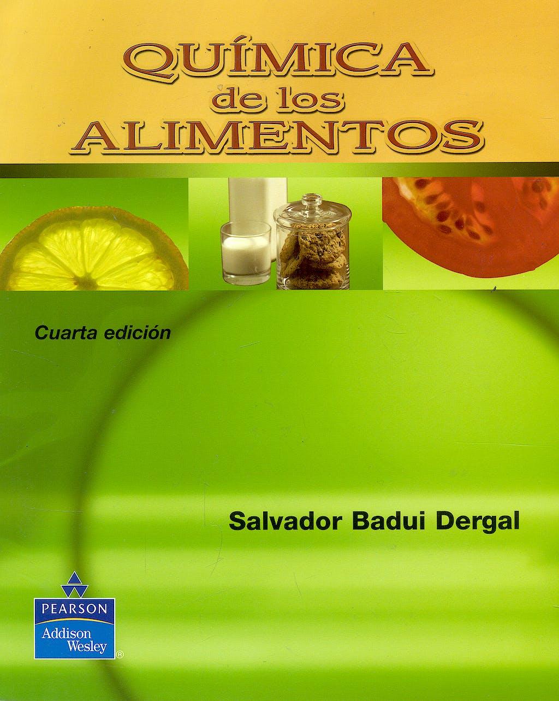 Portada del libro 9789702606703 Quimica de los Alimentos
