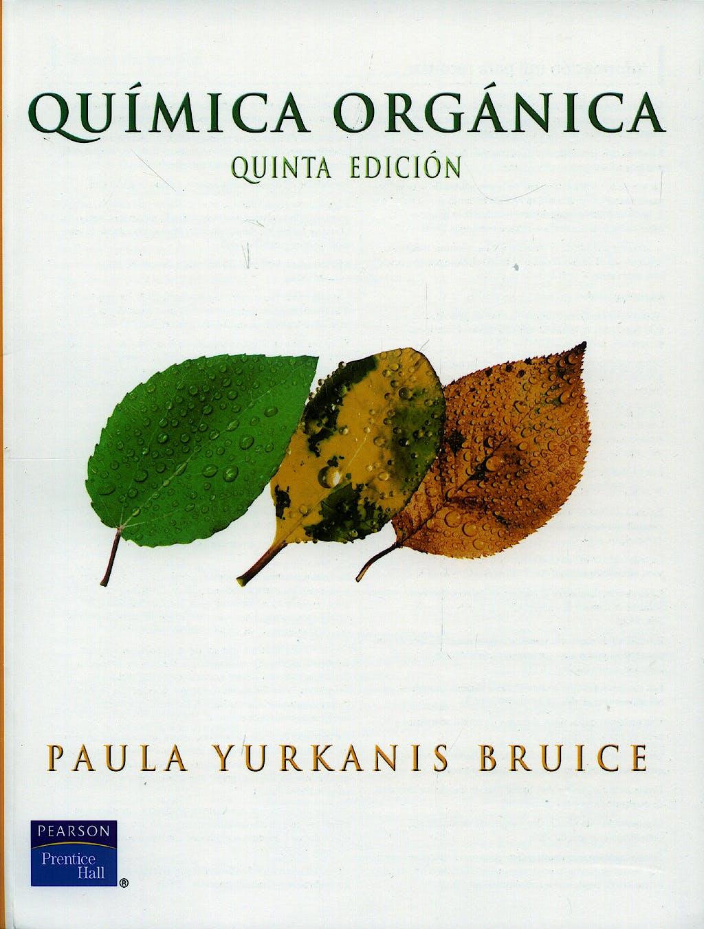 Portada del libro 9789702607915 Química Orgánica