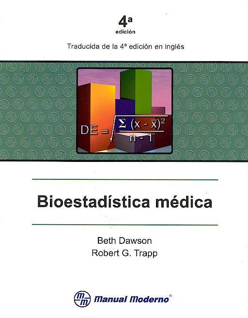 Portada del libro 9789707291348 Bioestadistica Medica