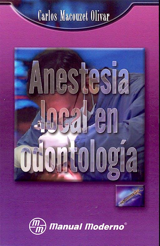 Portada del libro 9789707291409 Anestesia Local en Odontologia