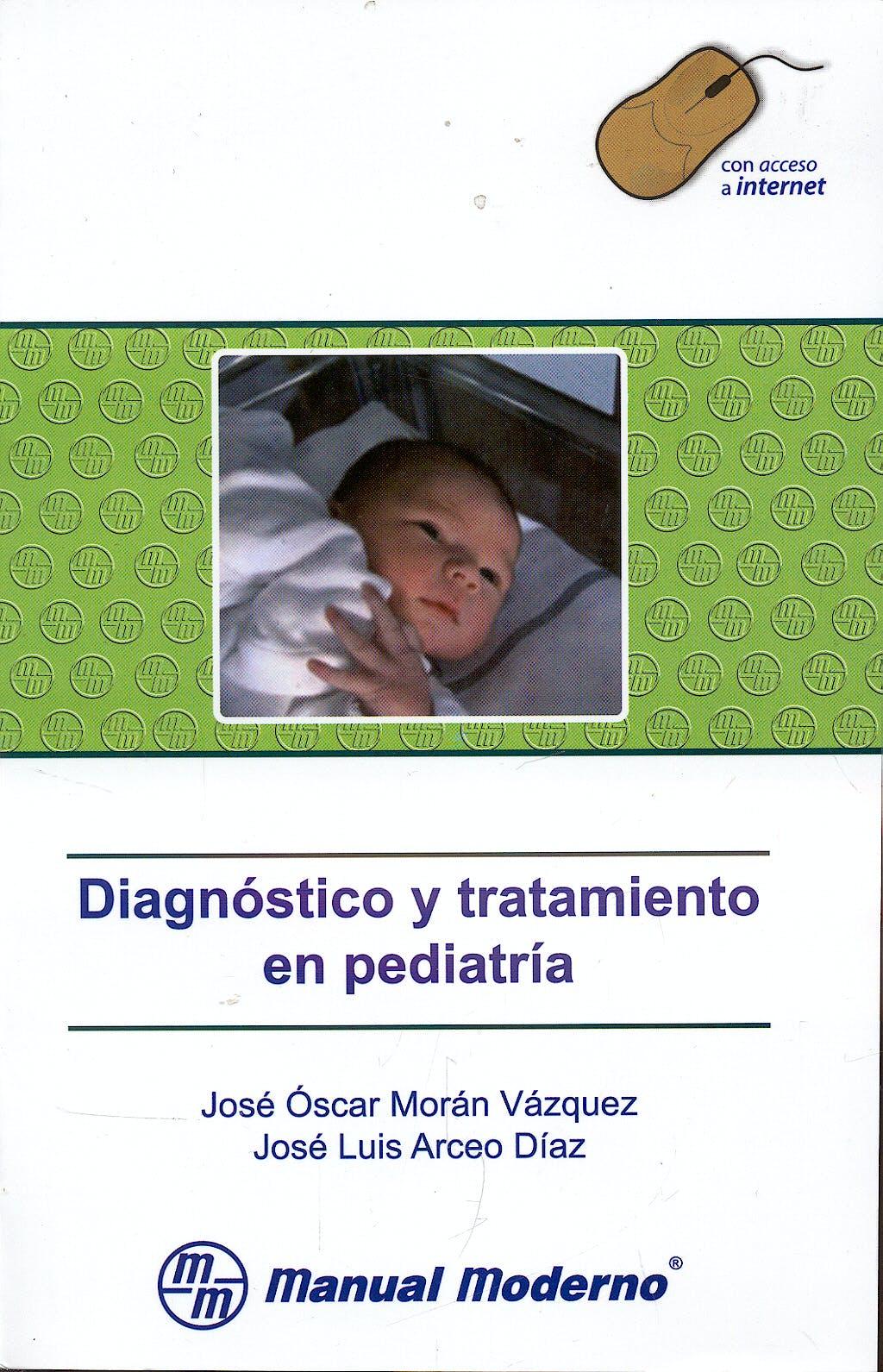 Portada del libro 9789707293373 Diagnostico y Tratamiento en Pediatria