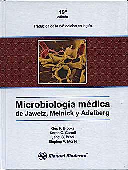 Portada del libro 9789707293380 Microbiología Médica de Jawetz, Melnick y Adelberg