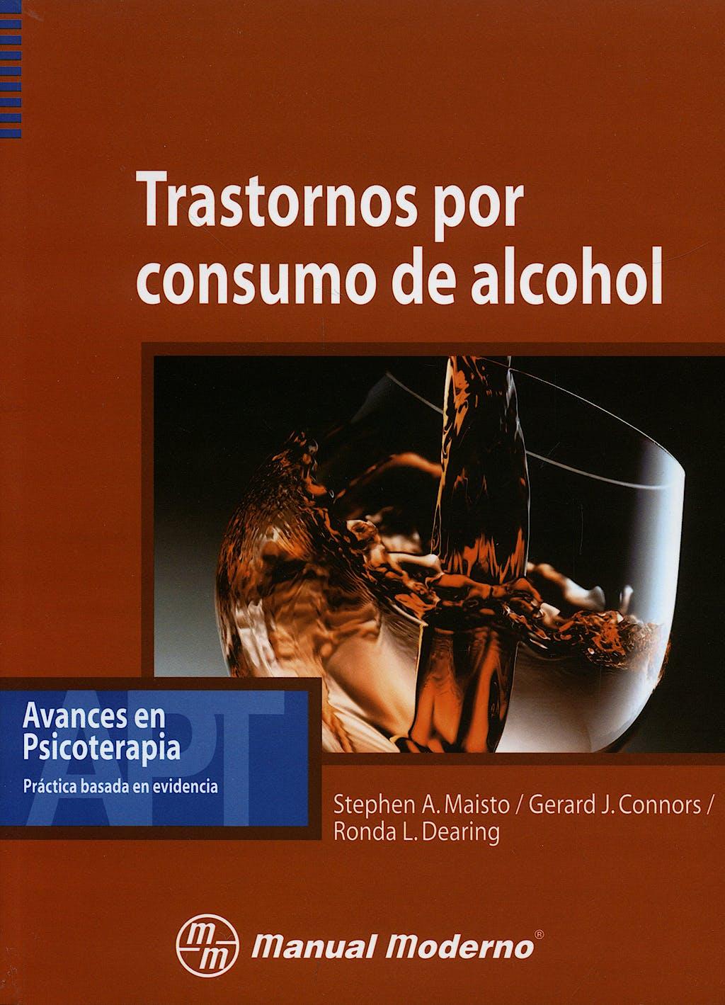 Portada del libro 9789707293502 Trastornos por Consumo de Alcohol