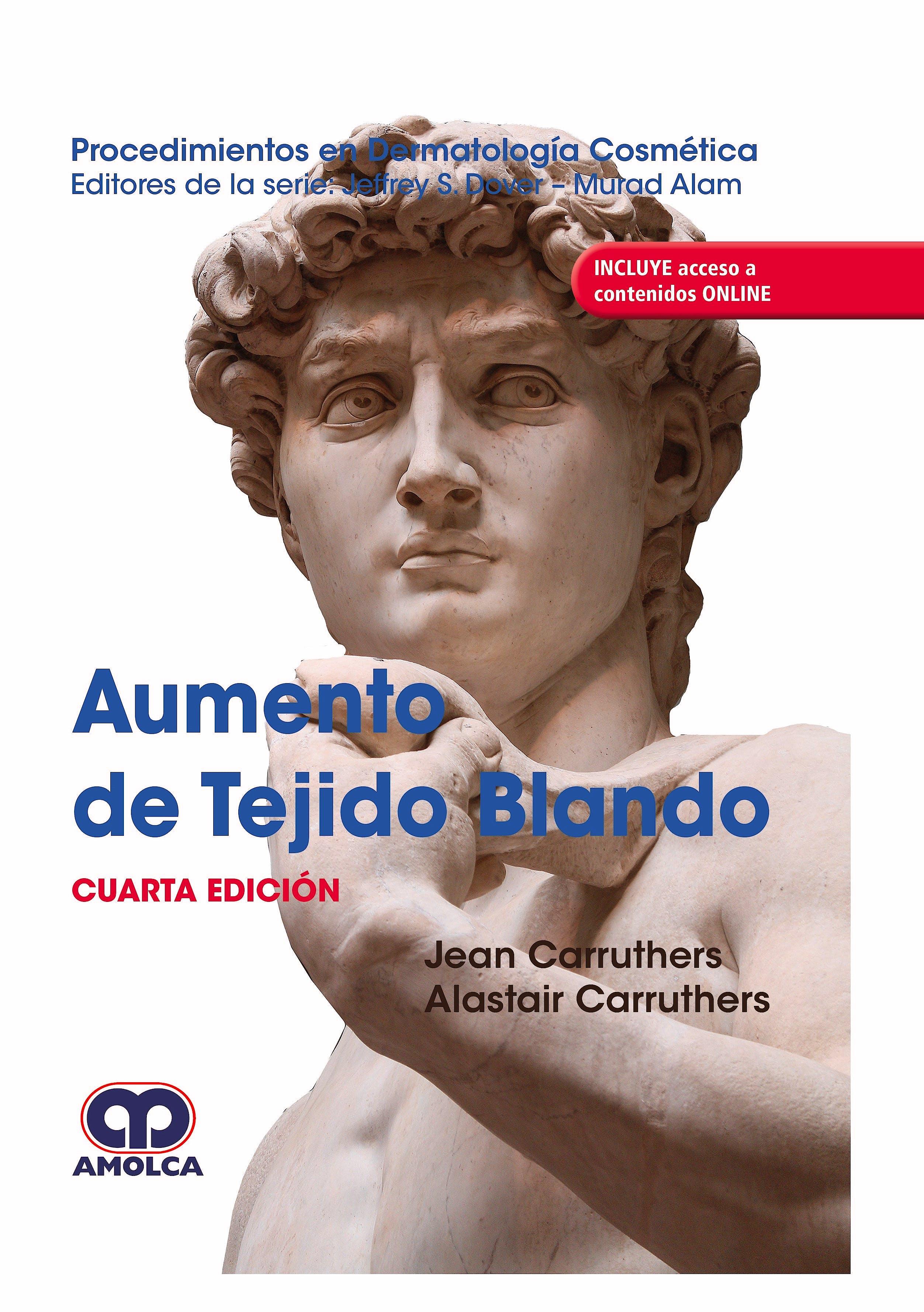 Portada del libro 9789804300233 Procedimientos en Dermatología Cosmética. Aumento de Tejidos Blandos + Acceso a Contenidos Online (Reimpresión 2021)