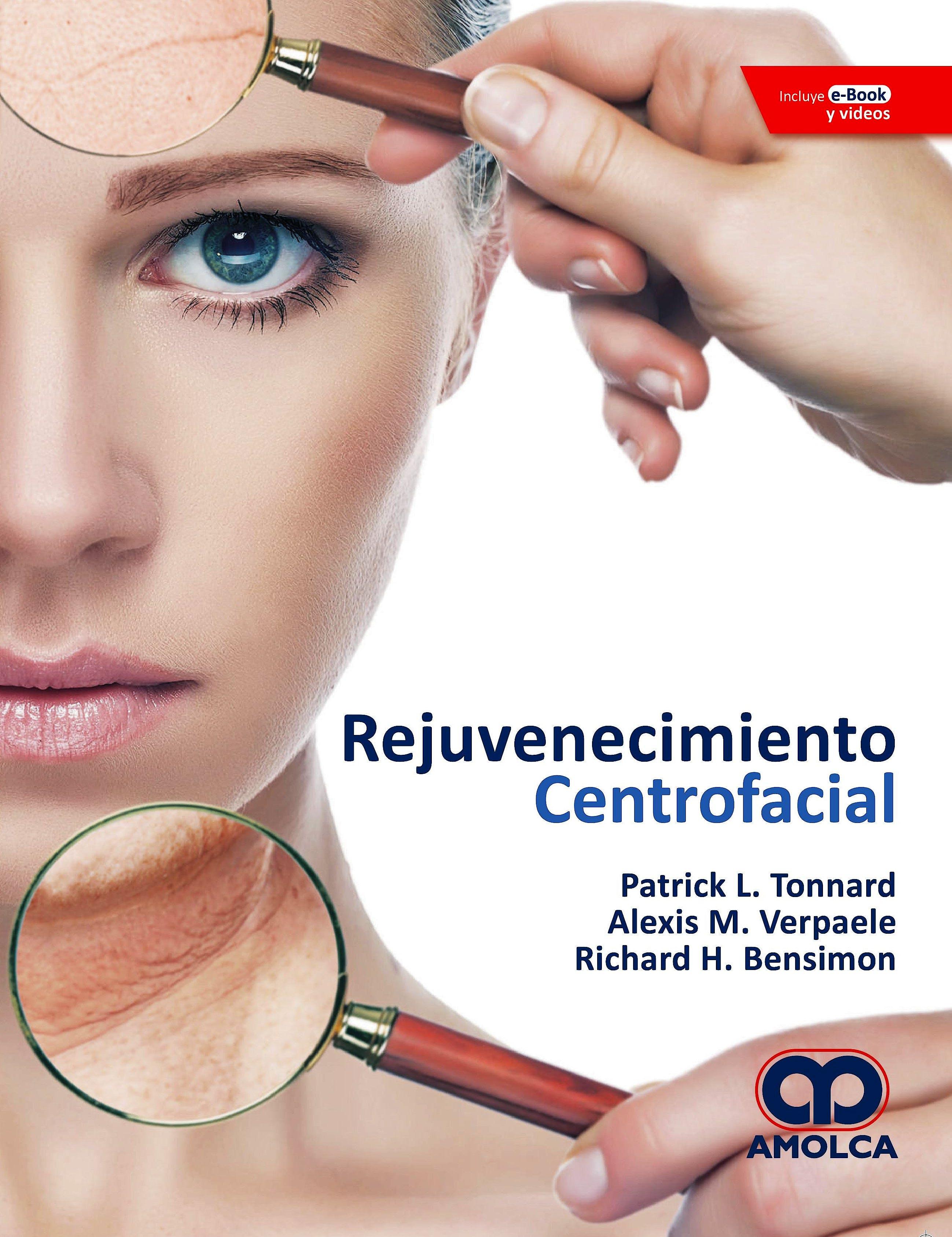 Portada del libro 9789804300400 Rejuvenecimiento Centrofacial + E-Book y Videos