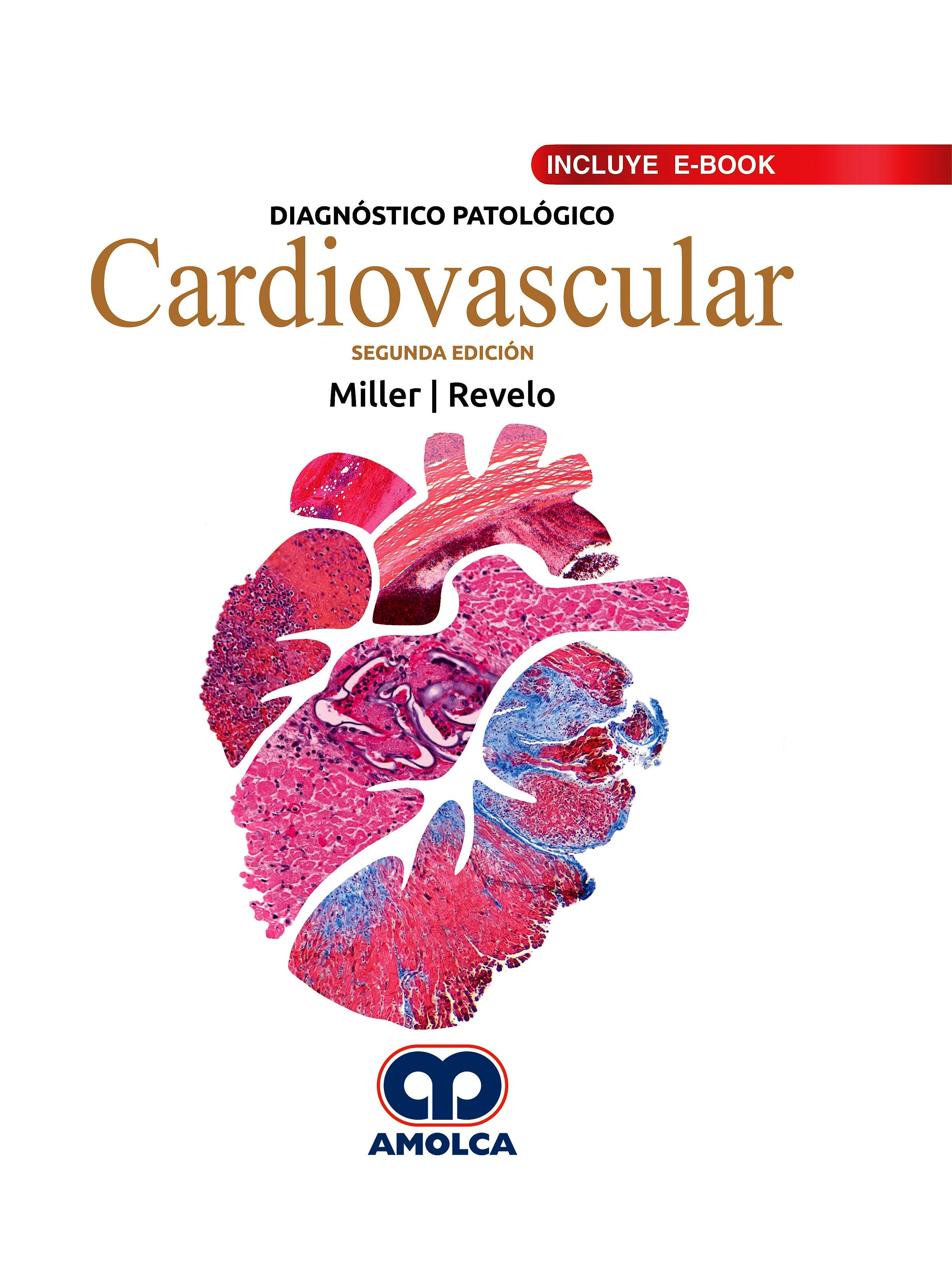 Portada del libro 9789804300448 Diagnóstico Patológico. Cardiovascular (Incluye E-Book)