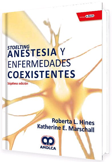 Portada del libro 9789804300790 STOELTING Anestesia y Enfermedades Coexistentes + E-Book