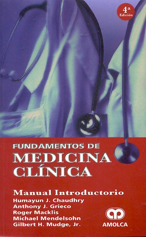 Portada del libro 9789806574250 Fundamentos de Medicina Clínica. Manual Introductorio