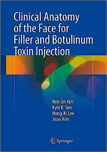 Portada del libro 9789811002380 Clinical Anatomy of the Face for Filler and Botulinum Toxin Injection