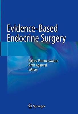 Portada del libro 9789811011238 Evidence-Based Endocrine Surgery