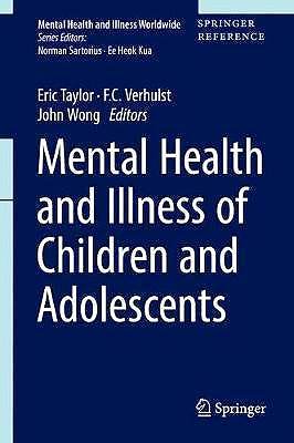 Portada del libro 9789811023460 Mental Health and Illness of Children and Adolescents