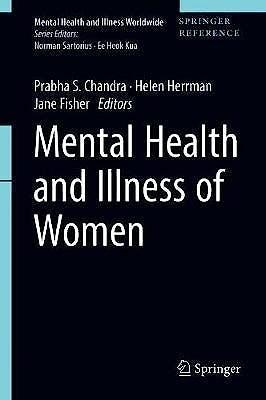 Portada del libro 9789811023682 Mental Health and Illness of Women